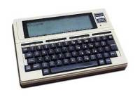 The first laptop computer, TRS 80 Model 100